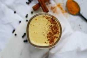 Golden Milk, Kurkuma Latte, Goldene Milch zuckerfrei, Goldene Milch vegan