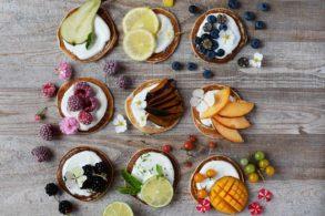 Brunch Mini Pancakes, Mini Pancakes, Palatschinken Vielfalt, Pancake Mix, Pancakes mit Früchten