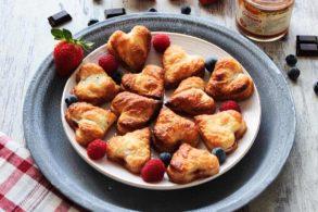 Muttertagsherzen, Muttertagsherzen mit Erdbeer