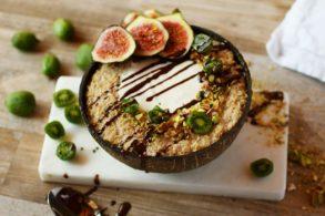 Kiwi Porridge, Pistazien Porridge, Feigen Porridge