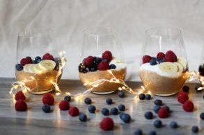 Braunhirse Dessert, Braunhirse Frühstück, Braunhirse Nachtisch, Braunhirse Brei