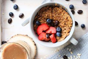 Cappuccino Tassen Kuchen, Kaffee Tassenkuchen zuckerfrei