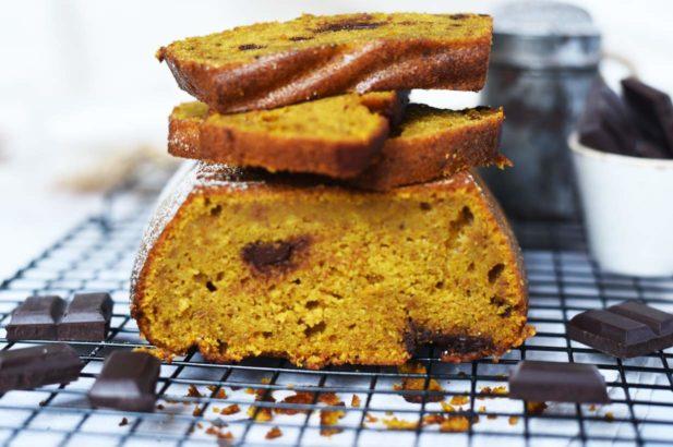 Schoko-Kürbis Brot, Kürbis-Schoko Brot, Brot mit Schokolade, Zartbitterschokolade Kürbis Brot, Chocolate Bread with Pumpkin