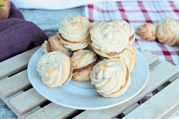 Kekse mit Apfelmus, Apfel Kekse zuckerfrei, Apfelkekse mit Xylit, Apfel Kekse mit Birkenzucker