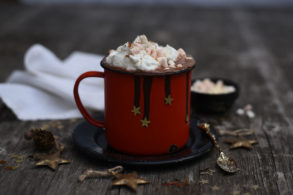 Heiße Schokolade zuckerfrei, Heiße Schokolade mit Xylit, Heiße Schokolade weihnachtlich, Warmer Kakao mit Xylit, Heiße Schokolade mit Toppings