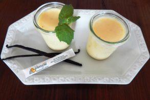 Vanillepudding ohne Zucker, Vanillepudding mit Xylit, Zuckerfreier Pudding, Pudding ohne Zucker