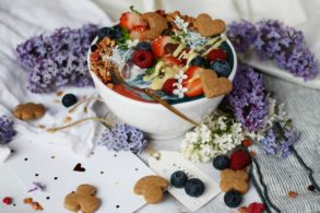 Nice Cream Bowl zuckerfrei, Zuckerfreie Nice Cream Bowl, Vegane Nice Cream Bowl zuckerfrei