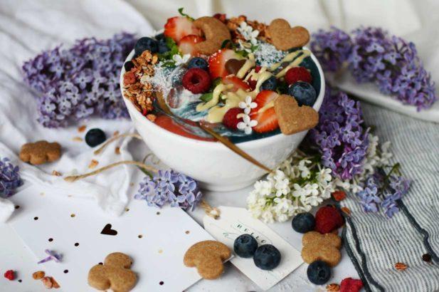 Nice Cream Bowl zuckerfrei, Zuckerfreie Nice Cream Bowl, Vegane Nice Cream Bowl zuckerfrei