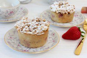 Rhabarber Muffins vegan, Rhabarbermuffins glutenfrei, Rhabarber Streusel Muffins vegan, Streusel Muffins mit Rhabarber zuckerfrei