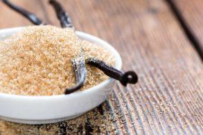 Vanille Zucker mit Xylit, Vanille Zucker mit Birkenzucker, Xylit-Vanille Zucker, Vanille Birkenzucker zuckerfrei, Vanille Zucker zuckerfrei, Bourbon-Vanillezucker mit Birkenzucker