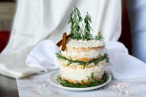 Weihnachtstorte, Weihnachtskuchen, Naked Cake, Naked Cake Christmas, Christmas Cake, Weihnachtsrezepte, Torte Weihnachten, Torte mit Apfelmus